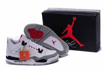 AAA men jordan 4 shoes-008