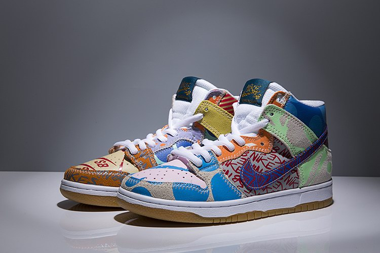 WOMEN NIKE DUNK SB high shoes-007