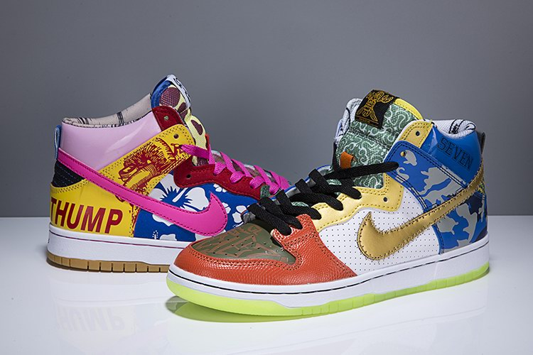 WOMEN NIKE DUNK SB high shoes-040
