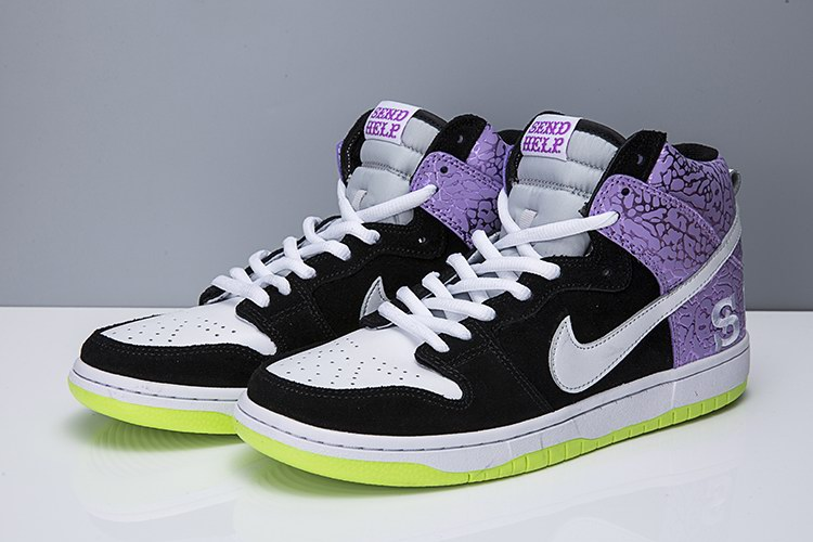 WOMEN NIKE DUNK SB high shoes-043