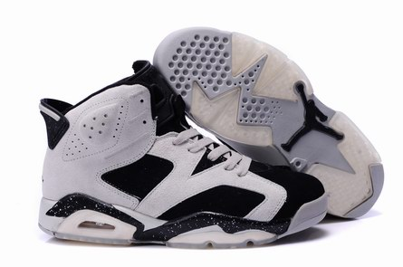 men jordan 6 Anti-fur shoes-002