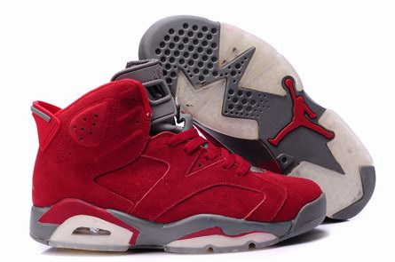 men jordan 6 Anti-fur shoes-005
