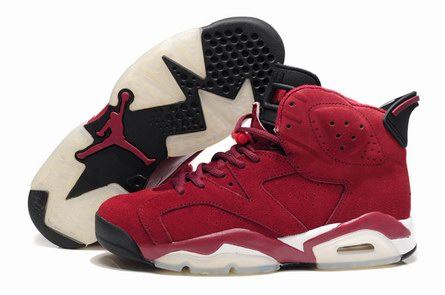 men jordan 6 Anti-fur shoes-008