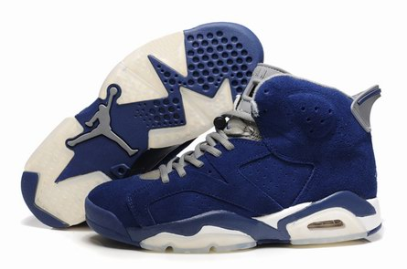 men jordan 6 Anti-fur shoes-009