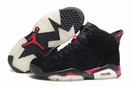 men jordan 6 Anti-fur shoes-010